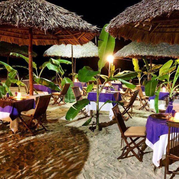 Nosy Be ristorante spiaggia madagascar