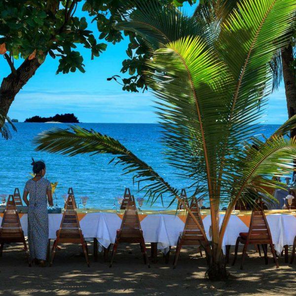cena spiaggia madagascar