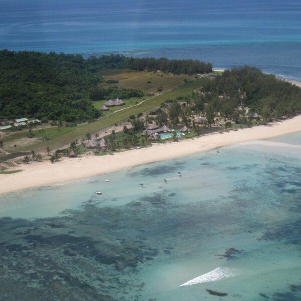 vista aerea Nosy Saba