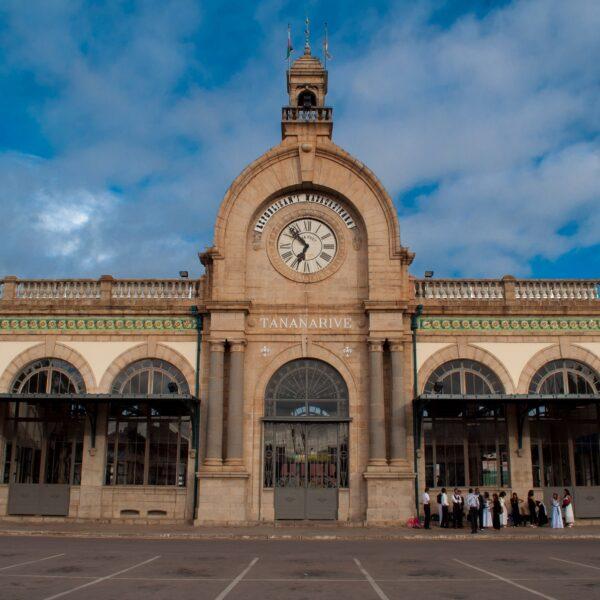 La stazione di Antananarivo