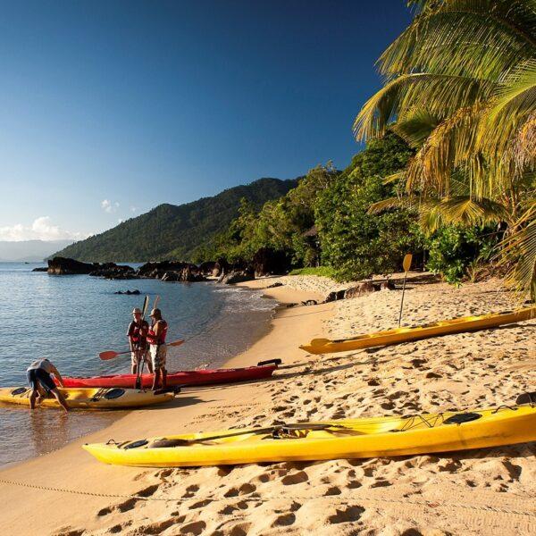 baia antongil escursione kayak madagascar